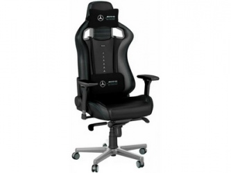 Игровое Кресло «Noblechairs EPIC Mersedes AMG Ed. PU Leather black»